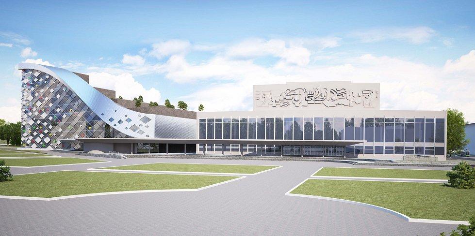 Площадку перед Дворцом молодежи реконструируют к ЧМ-2018