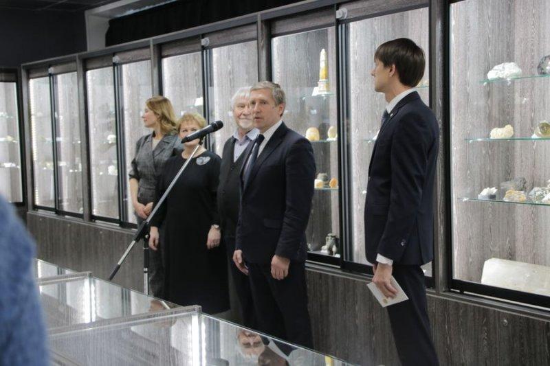 В Инновационном культурном центре открылась новая экспозиция «Музей камня»