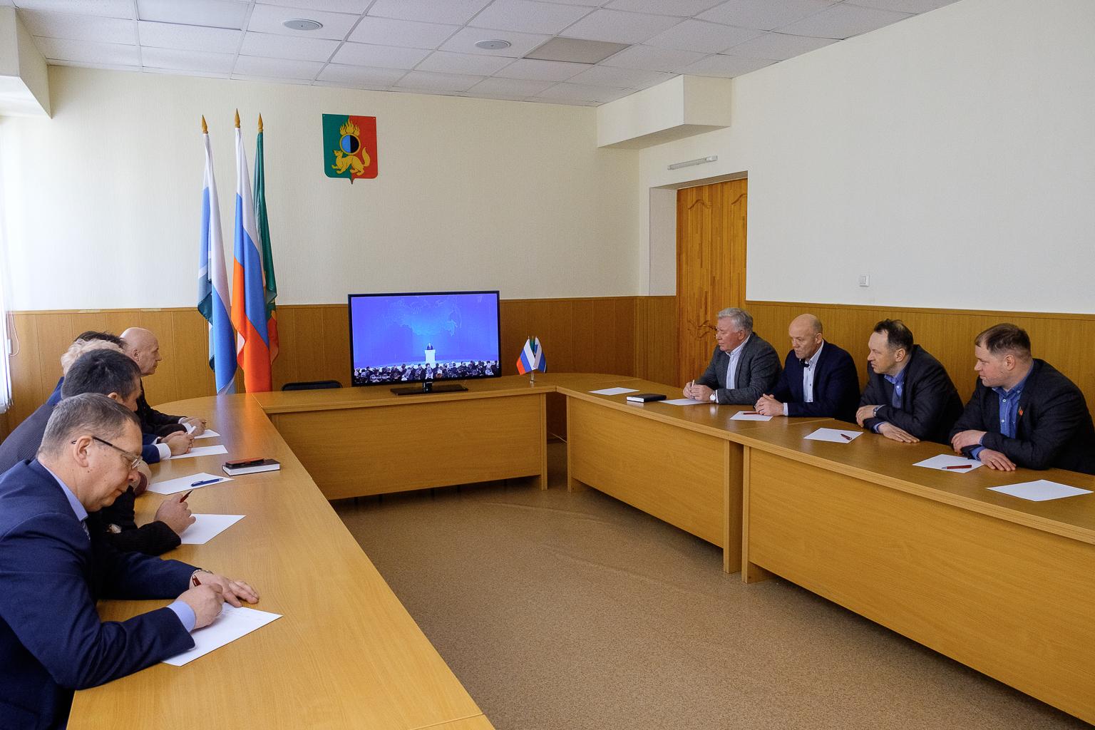 Депутаты обсудили Послание Президента Федеральному Собранию
