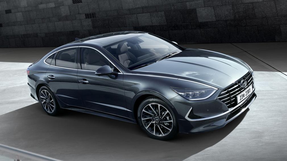 Хендай Sonata обновленного поколения: версии для Кореи